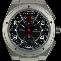 IWC Titanium Special Edtn Ingenieur Chrono AMG for Mercedes...
