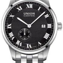 Union Glashütte 1893 Small Second Steel 41mm Black Roman numerals
