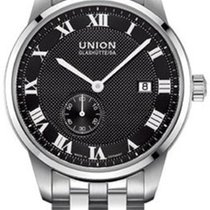 Union Glashütte 1893 Small Second Otel 41mm Negru Roman