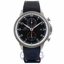 IWC Portuguese Yacht Club Rubber Strap Watch IW390210