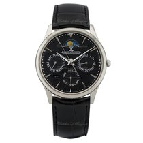 Jaeger-LeCoultre Master Ultra Thin Perpetual Steel 39mm Black