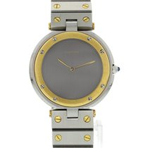 Cartier Santos Ronde 18K Yellow Gold & Stainless Steel