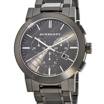 Burberry Steel Quartz BU9354 new
