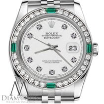 Rolex Lady-Datejust Staal 31mm Wit