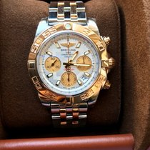 Breitling Chronomat 41 Rosegold/Steel Full Set Unworn