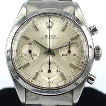 Rolex Pre-Daytona Chronograph Ref 6238 Silver