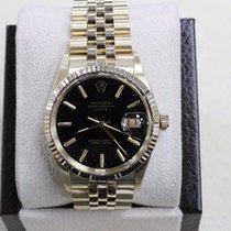 Rolex Date 15037 Oyster Perpetual 34mm 14k Yellow Gold