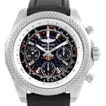 Breitling Bentley B06 Black Dial Chronograph Mens Watch Ab0612...