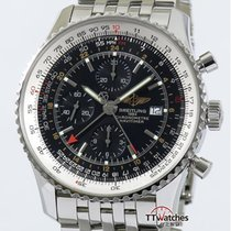 百年靈 (Breitling) Navitimer World Gmt Chronograph 46mm A2432212...