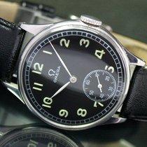Omega Winding Side Second Steel Unisex Watch