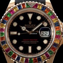 Ρολεξ (Rolex) ROLEX YACHT-MASTER 116695 SATS WATCH WITH GEM...