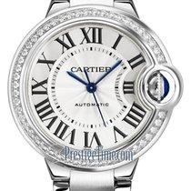 Cartier Ballon Bleu 33mm new Automatic Watch with original box