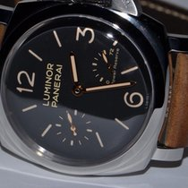 Panerai PAM00423 Steel Luminor 1950 3 Days Power Reserve 47mm pre-owned United States of America, New York, Greenvale