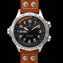 Hamilton Khaki X-Wind H77755533 new
