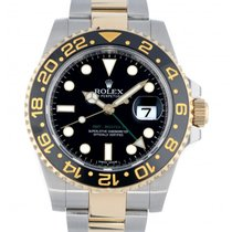Rolex Gmt II 116713ln Steel Yellow Gold 40mm