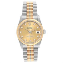 Rolex Datejust White gold 31mm Bronze