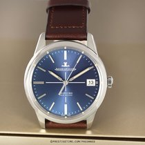 Jaeger-LeCoultre Geophysic True Second Сталь 39.6mm Синий