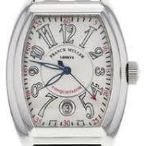 Franck Muller Automatic pre-owned Conquistador White
