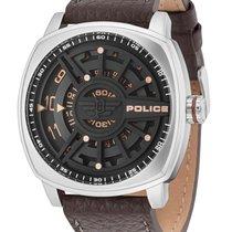 Police Steel 50mm Quartz PL15239JS.02 new