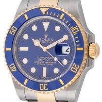 Rolex Submariner Date подержанные 40mm Синий Дата