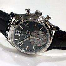 Patek Philippe Annual Calendar Chronograph gebraucht 41mm Platin