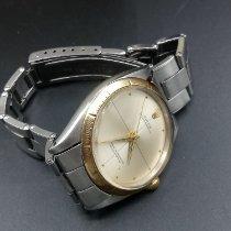 Rolex 34mm Automatik 1965 gebraucht Oyster Perpetual 34 Silber