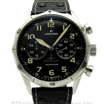 Junghans Meister Pilot pre-owned 43mm Black Chronograph