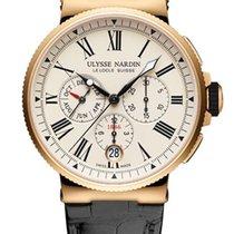 Ulysse Nardin Marine Chronograph 1532-150/40 new