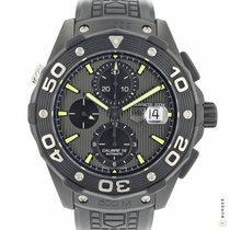 TAG Heuer Aquaracer 500M Titanium 44mm Black No numerals