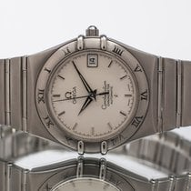 Omega Constellation Steel 35.5mm White