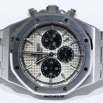 Audemars Piguet Royal Oak Chronograph Aço 41mm Prata