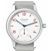 NOMOS Club Neomatik Steel 37mm White Arabic numerals