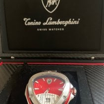 Tonino Lamborghini Steel 500mm Quartz new