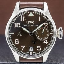 IWC Big Pilot Steel 46mm Brown Arabic numerals United States of America, Massachusetts, Boston