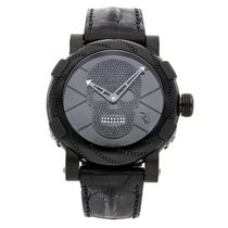 Romain Jerome Steel Automatic Black No numerals 46mm pre-owned