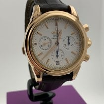 Omega De Ville Co-Axial Rose gold 38mm White No numerals