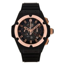 Hublot King Power 701.CO.0180.RX Très bon Céramique 48mm Remontage automatique