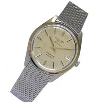Longines 35,5mm Automatic 1974 pre-owned Admiral Silver