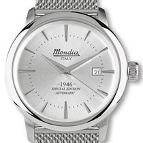 Mondia Steel 42mm Automatic MI723-2BM new