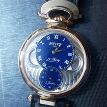 Bovet Red gold Manual winding Blue Arabic numerals 42mm new