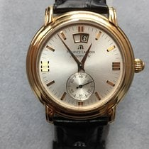 Maurice Lacroix Masterpiece 18 KT.Rose Gold Large Date -MP6418...