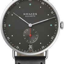 NOMOS Metro 38 Datum Steel 38.5mm Grey United States of America, New York, Airmont