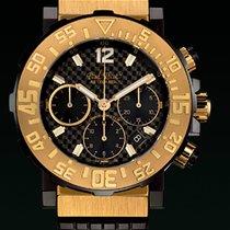 Paul Picot C-TYPE chrono chronograph cash gold rose 3930.SRG.3301