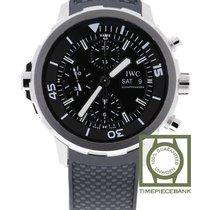 IWC Aquatimer Chronograph Сталь 44mm Чёрный