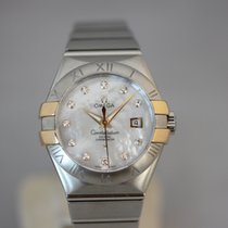 Omega Chronometer 31mm Automatik 2019 neu Constellation Ladies Perlmutt