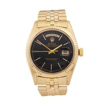 Rolex Day-Date 18K Yellow Gold Men's 1803 - W4682