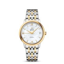 Omega De Ville Prestige Gold/Steel 32.7mm Mother of pearl United States of America, New York, New York