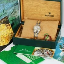 Rolex Oyster Perpetual Lady Date White MOP -with Box and Papers