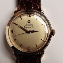 Omega Yellow gold 35mm Automatic 6525-2 pre-owned