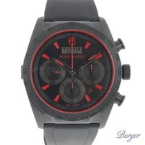 Tudor Fastrider Black Shield Steel 42mm Black